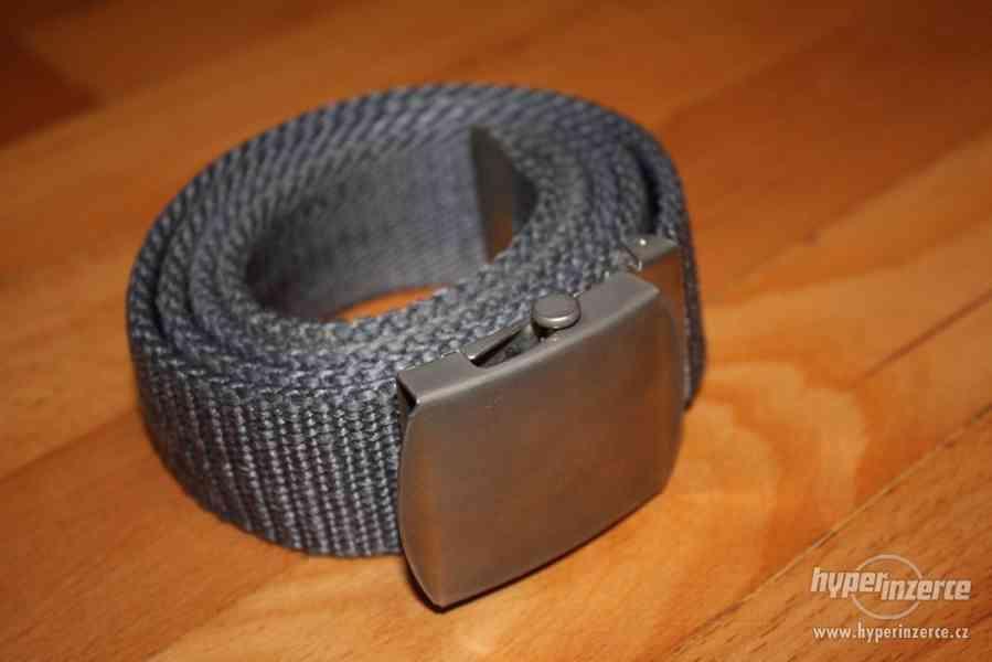 Pánský látkový pásek - foto 1