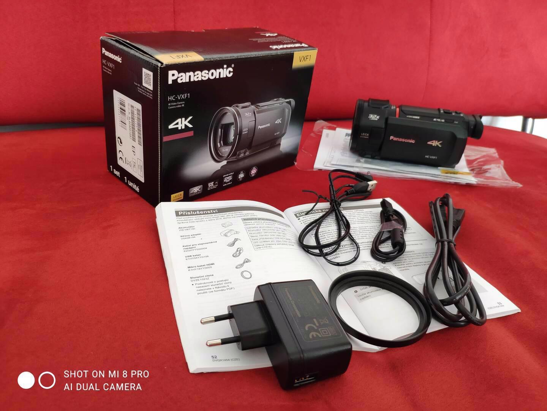 4K kamera Panasonic HC-VXF1  - foto 1