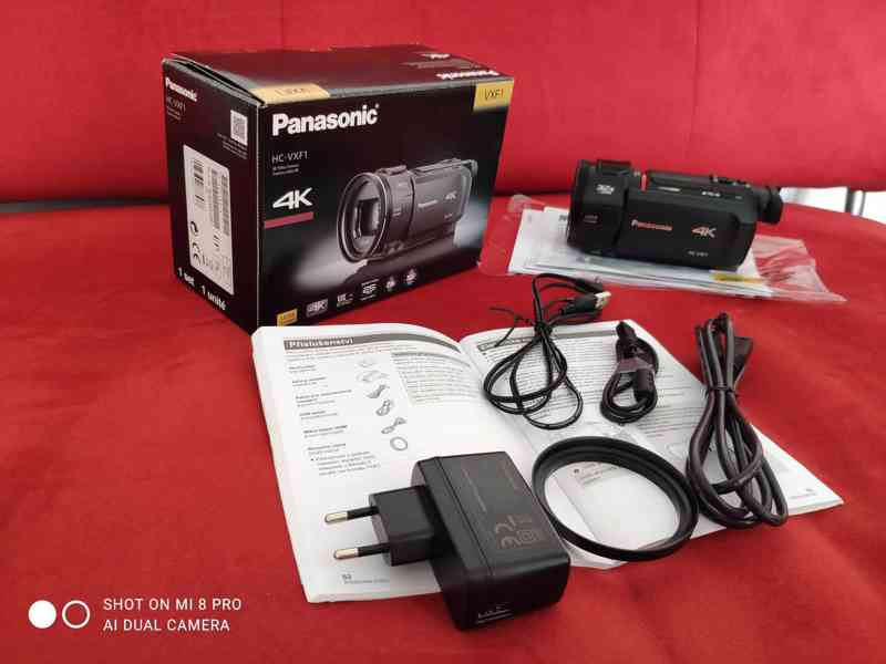 4K kamera Panasonic HC-VXF1