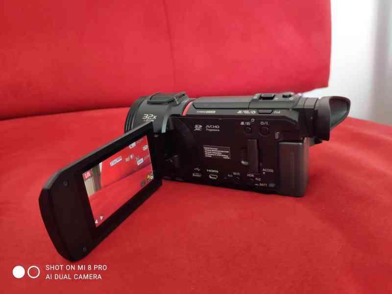 4K kamera Panasonic HC-VXF1  - foto 2