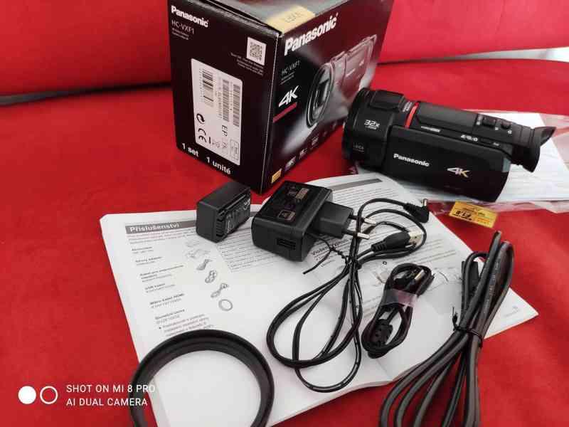 4K kamera Panasonic HC-VXF1  - foto 5