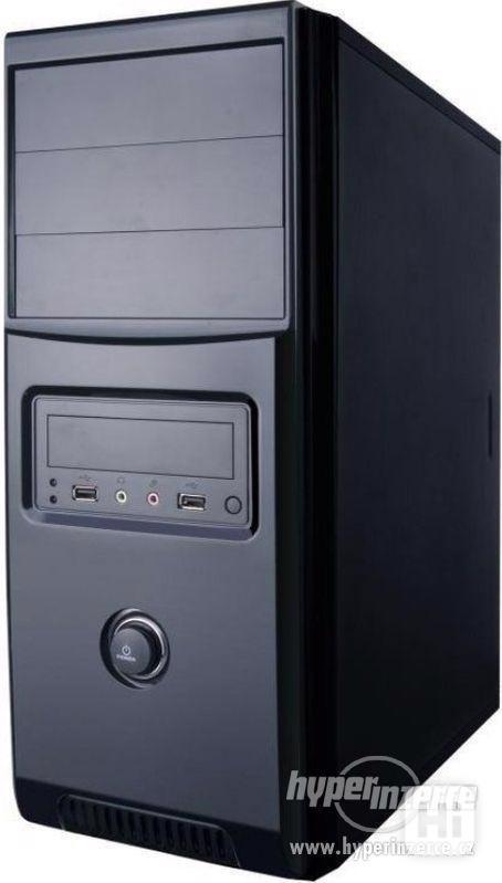 PC skříň - KME CX-2058 MIDI Tower ATX, Black