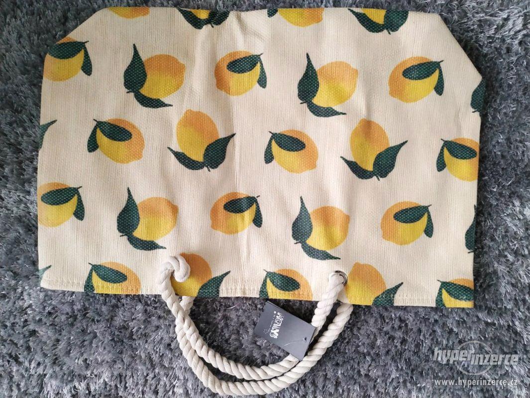 letní/piknik/plážová taška - foto 1