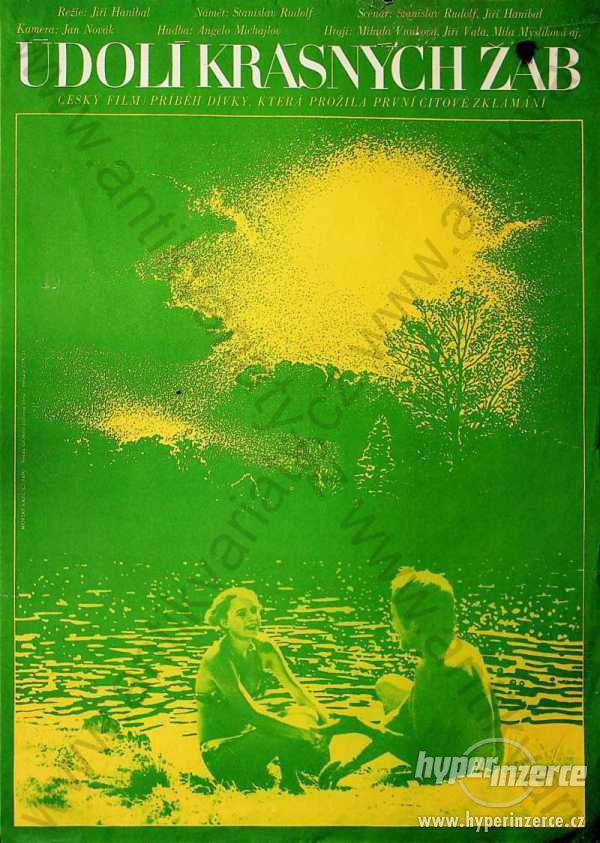 Údolí krásných žab Vasil Miovský film plakát