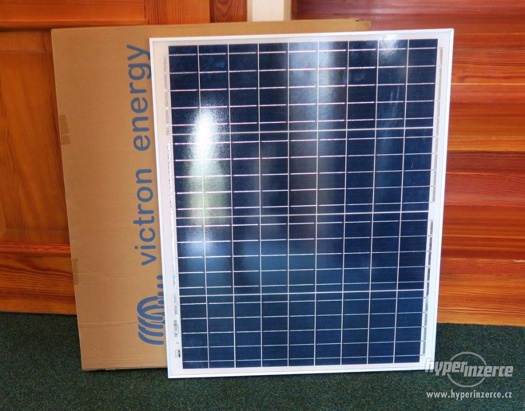 Solární panel fotovoltaický polykrystal 60W - 12V - foto 1
