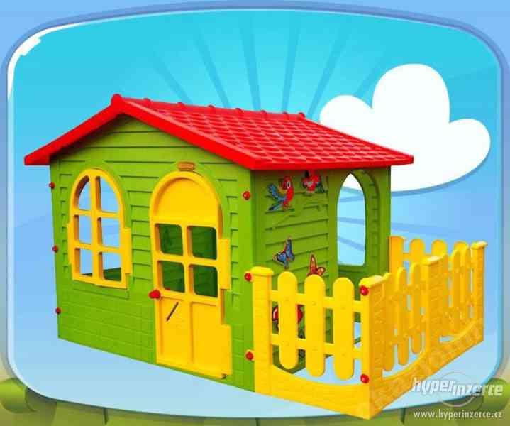 dětský ploastový domeček xxl