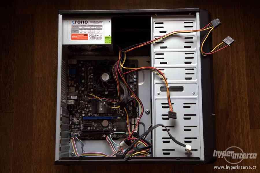 Prodám PC Athlon XII X4 640, 8GB RAM + Win 10 Pro 64bit
