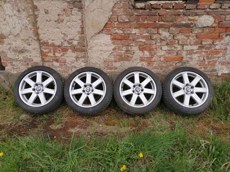 "Alu kola BMW 17""7,5Jx17H2 ET44+zimní Barum Polaris 3 - foto 1"