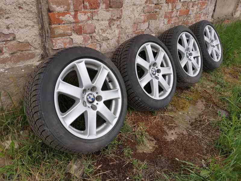 "Alu kola BMW 17""7,5Jx17H2 ET44+zimní Barum Polaris 3 - foto 3"
