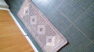 Ručně háčkovaný kobereček - foto 1