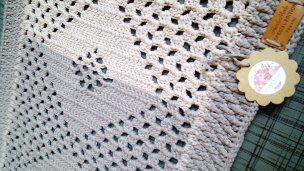 Ručně háčkovaný kobereček - foto 3