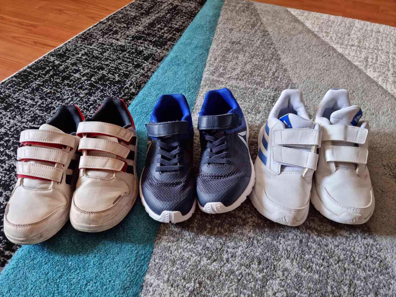 Dětské chlapecké boty Adidas a Reebok vel. 34 - foto 1