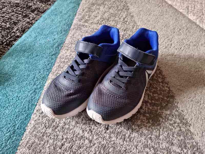 Dětské chlapecké boty Adidas a Reebok vel. 34 - foto 2