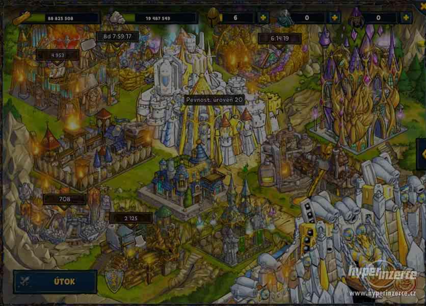 SFGAME účet / 348level / Svět1-CZ / Kouzelník - foto 3