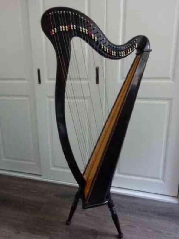 prodám harfu - foto 3