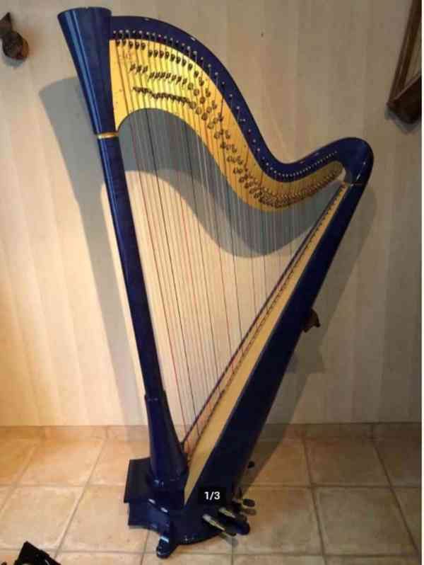 prodám harfu - foto 7