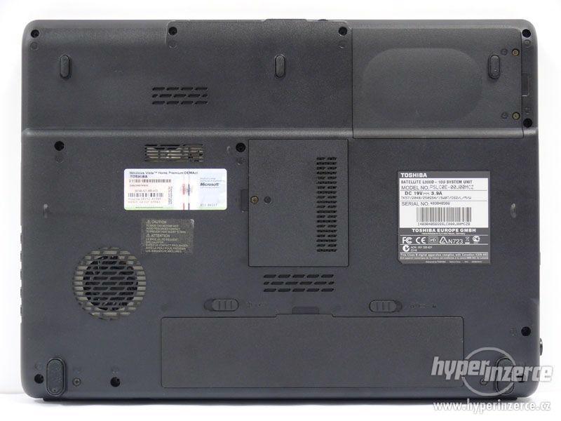 Toshiba Satellite L300D-10B, 2 jádra AMD, Windows 7 - foto 4