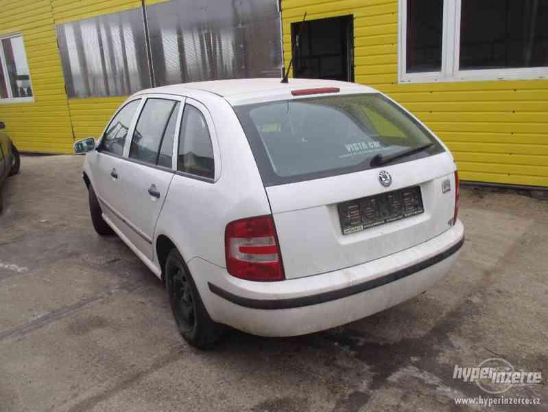 Prodám náhradní díly z Škoda Fábia combi 1,2 HTP r.v. 2005