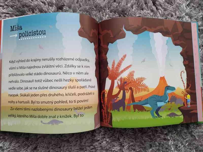 Jak Míša zachránil dinosaury a babičku - foto 2