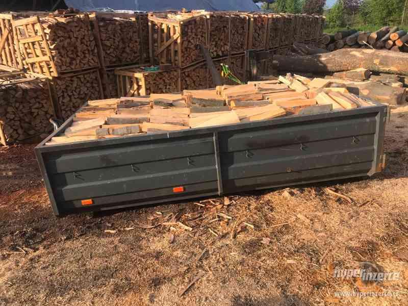 Palivové dřevo Krnov, štípané dřevo Krnov, dřevo na topení