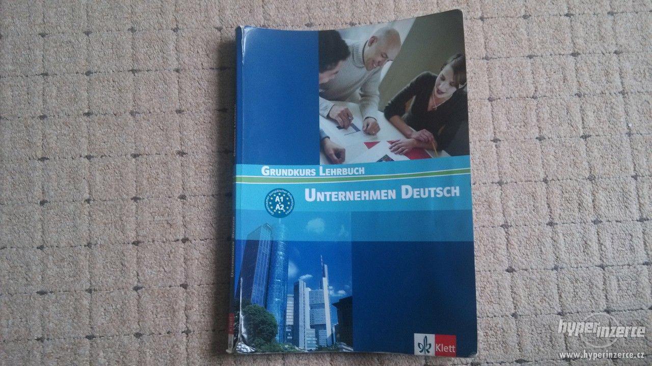 Prodám Unternehmen Deutsch Grundkurs Lehrbuch - foto 1