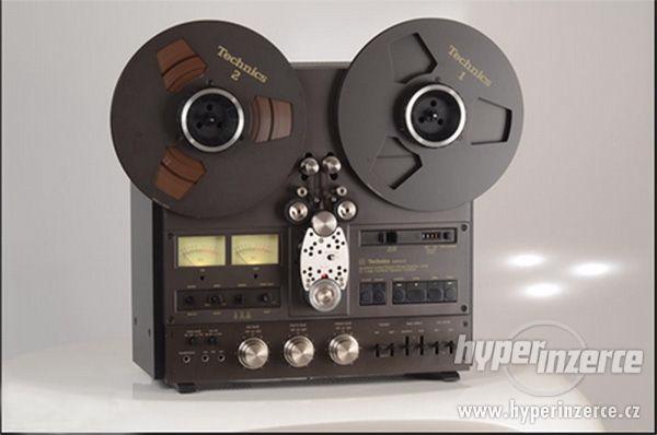 Prodám kotoučový magnetofon Technics