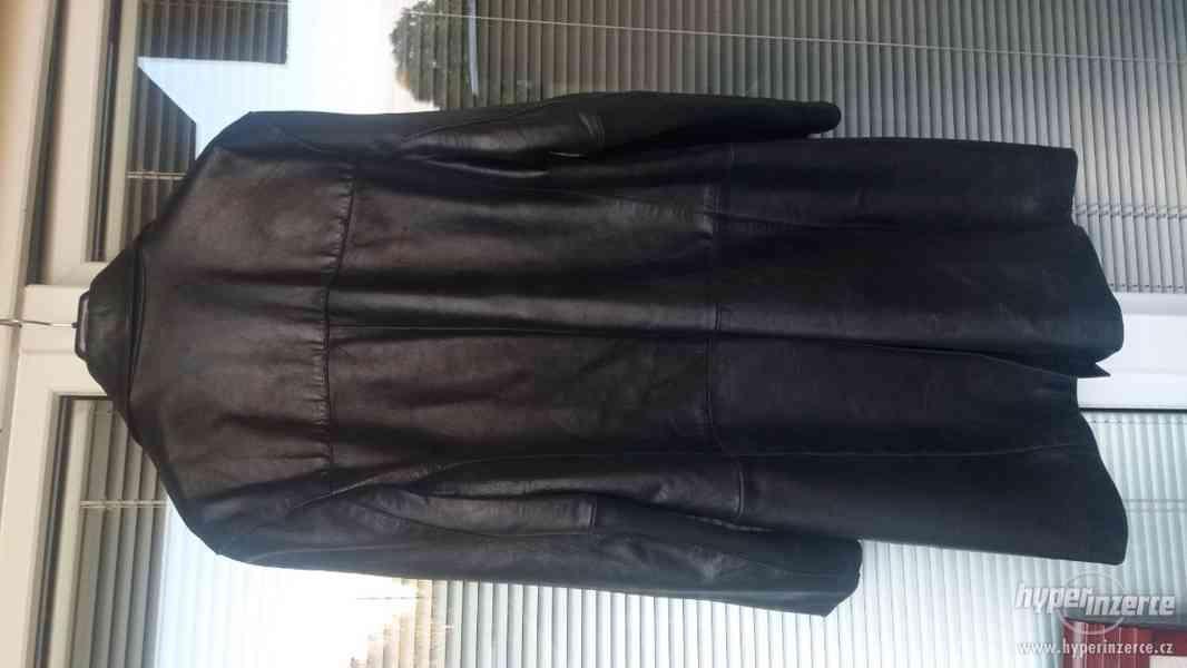 Pánsky kožený kabát - foto 2