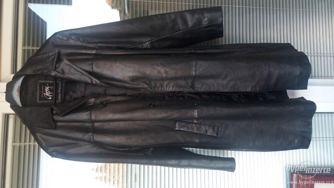 Pánsky kožený kabát - foto 1