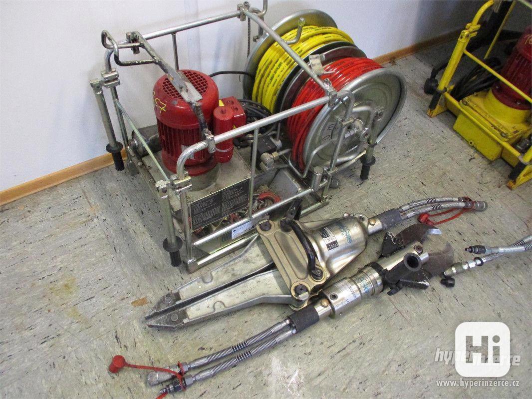 Hydraulické nůžky sada na vyprošťování - foto 1