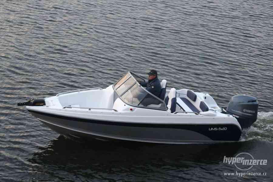 Prodám laminátový motorový člun UMS Tuna 520 PL