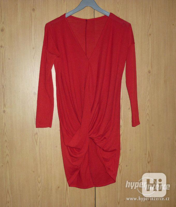 Červená tunika Made in Italy - foto 1