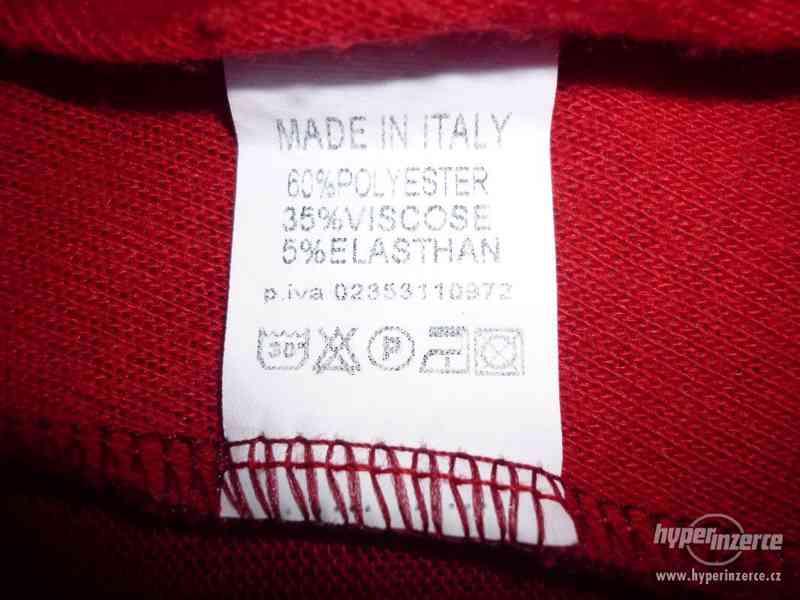 Červená tunika Made in Italy - foto 5