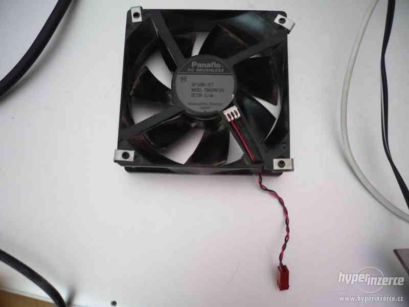 Ventilátor DC Brushless Panaflo 12V/0,4A Matsushita - foto 2