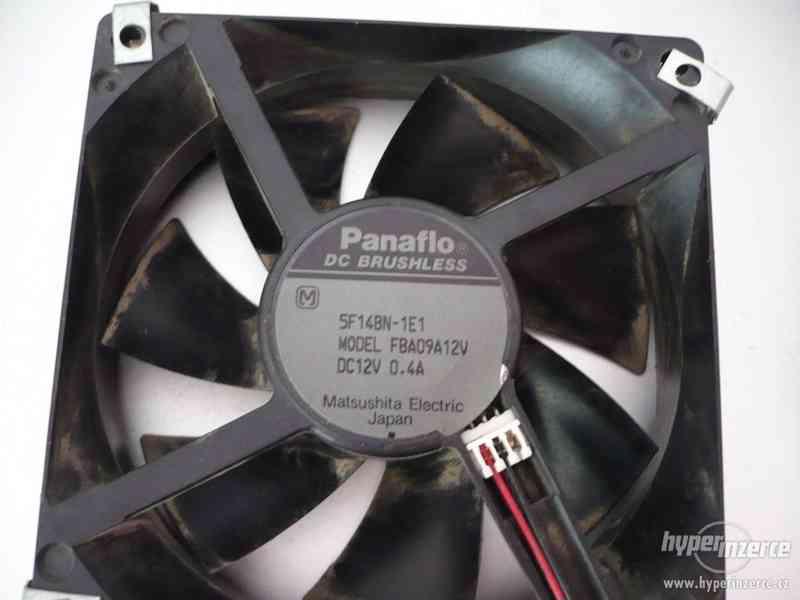 Ventilátor DC Brushless Panaflo 12V/0,4A Matsushita - foto 3
