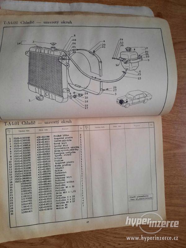 Lada 1200-1600, VAZ 2101-2106 – příručka, seznamy ND - foto 3