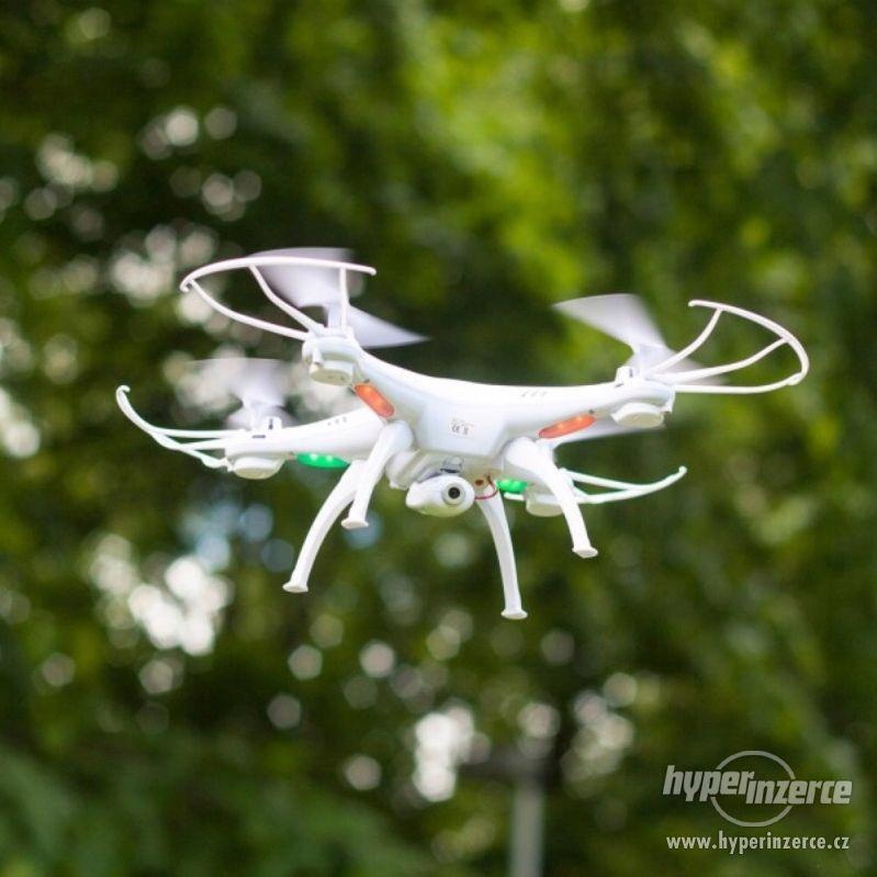 Syma X5Csw- dron s FPV online přenosem přes WiFi - ZÁRUKA - foto 1