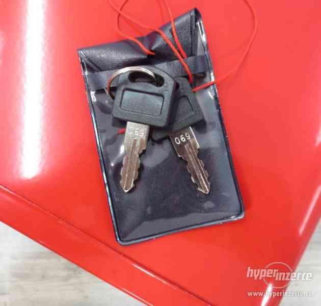Dílenský kovový kufr na nářadí 3 zásuvky - foto 2