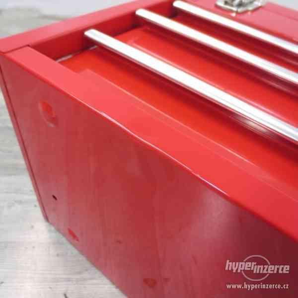 Dílenský kovový kufr na nářadí 3 zásuvky - foto 8