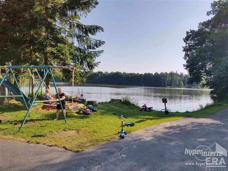 """Prodej pensionu s hospodou u jezera Katlov – v """" ráji rybářů"""",  21 lůžek+ 3+kk správcovský byt,letní - foto 3"""