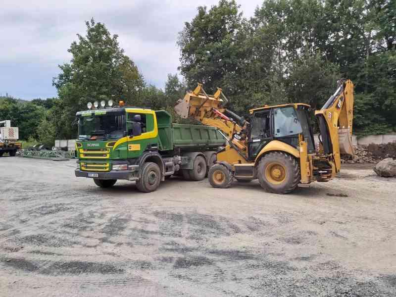 Přijmeme řidiče na nákladní vozidlo Scania sklápěč 6x4 - foto 2