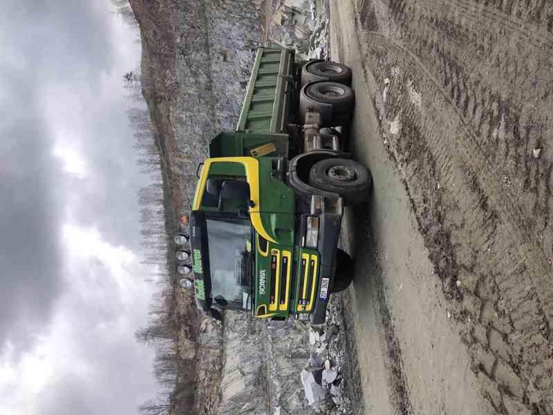 Přijmeme řidiče na nákladní vozidlo Scania sklápěč 6x4