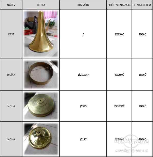 Prodám stínidla, nářadí a materiál na výrobu lustrů - foto 2