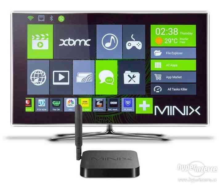 4k přehrávač Minix NEO X8-H Plus+cz tv zdarma - foto 2