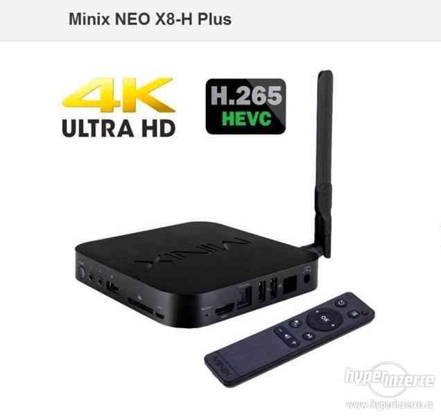 4k přehrávač Minix NEO X8-H Plus+cz tv zdarma - foto 3
