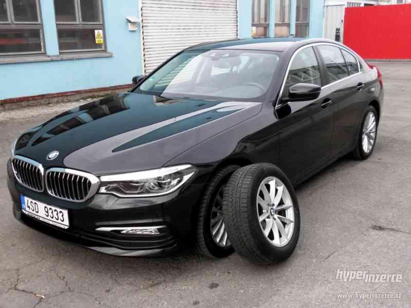 BMW 530d xDRIVE 195 kW AUT 07/2018 ČR KAMERA ADAPT.LED DPH - foto 1