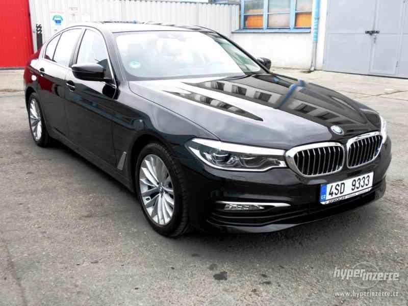 BMW 530d xDRIVE 195 kW AUT 07/2018 ČR KAMERA ADAPT.LED DPH - foto 2