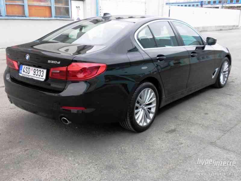 BMW 530d xDRIVE 195 kW AUT 07/2018 ČR KAMERA ADAPT.LED DPH - foto 4