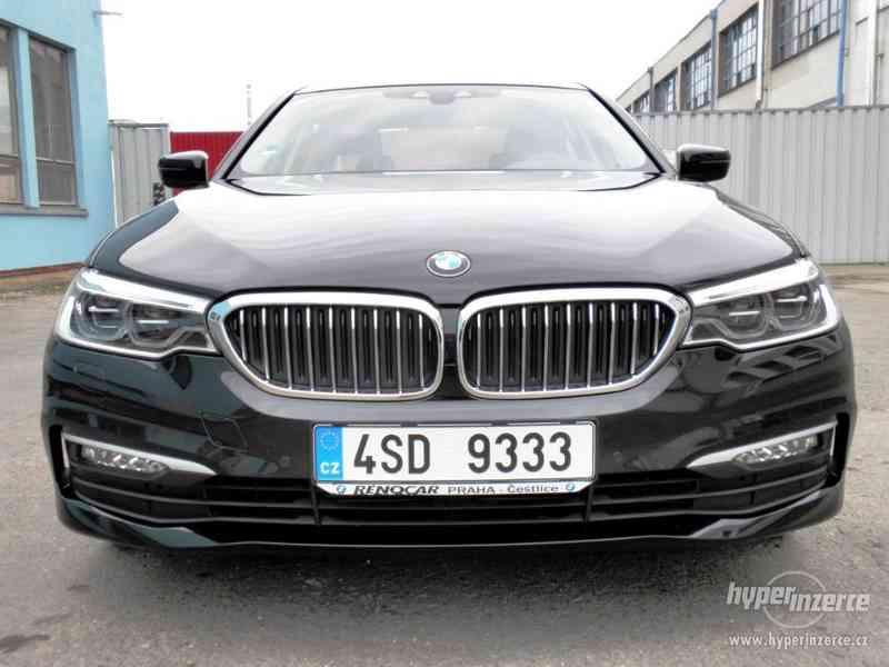 BMW 530d xDRIVE 195 kW AUT 07/2018 ČR KAMERA ADAPT.LED DPH - foto 5