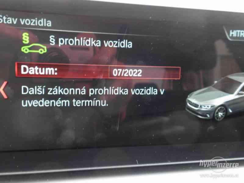 BMW 530d xDRIVE 195 kW AUT 07/2018 ČR KAMERA ADAPT.LED DPH - foto 15