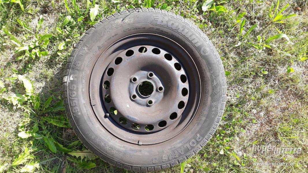 Zimní pneu Touran s ocelovými disky